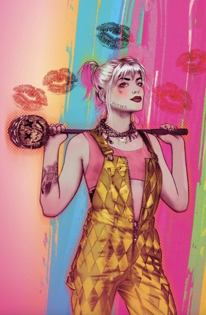 'Birds Of Prey' Harley Quinn Trade Paperback Special Cover