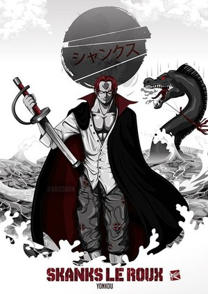 *Red Haired Shanks : One Piece*