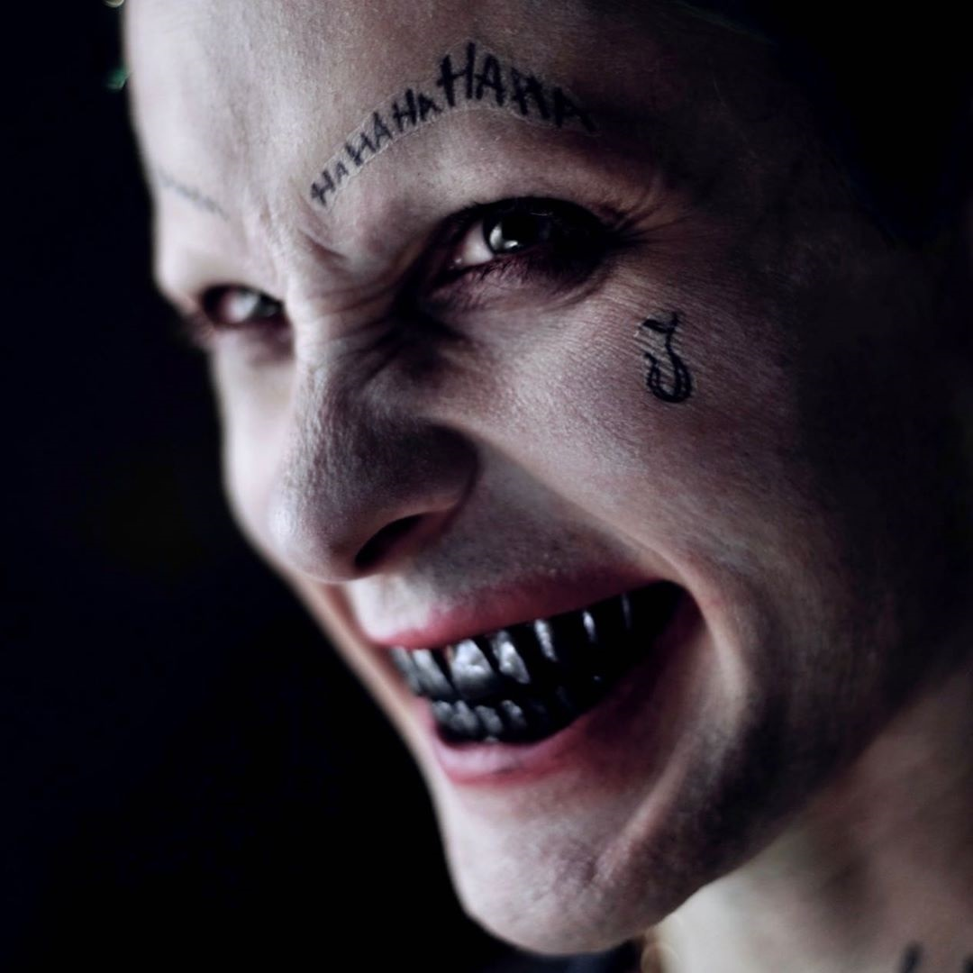 'Suicide Squad' Behind The Scenes ~ Joker Make-Up Test
