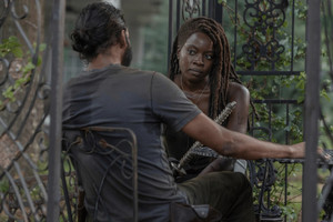 10x03 ~ Ghosts ~ Michonne and Siddiq