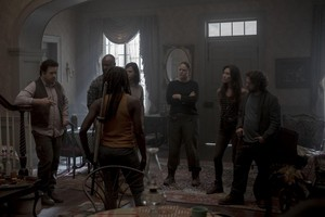 10x04 ~ Silence the Whisperers ~ Eugene, Michonne, Dianne, Yumiko and Luke