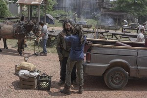 10x04 ~ Silence the Whisperers ~ Ezekiel and Jerry