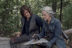 10x06 ~ Bonds ~ Carol and Daryl