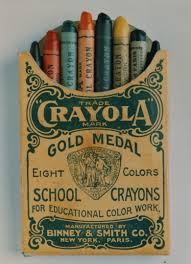 1903 Edition Of Crayola Crayons