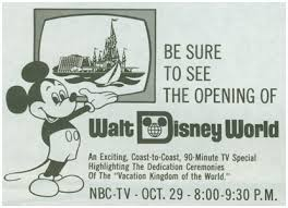 1971 Grand Opening Of Disney World Television Promo Ad