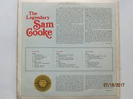 1974 Release, The Legendary Sam Cooke, 3-LP Set