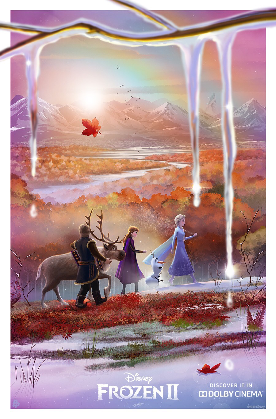 Frozen 2 Dolby Cinema exclusive poster
