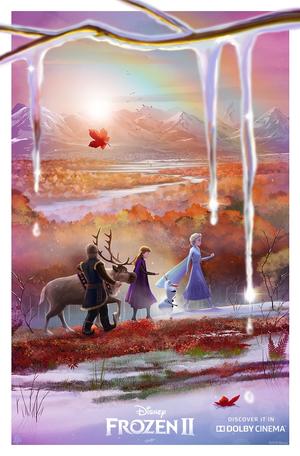 Холодное сердце 2 Dolby Cinema exclusive poster