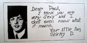 A Fan Letter To Paul ❤
