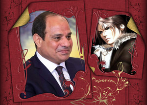 ABDELFATTAH ELSISI Squall Leonhart OUT FROM EGYPT