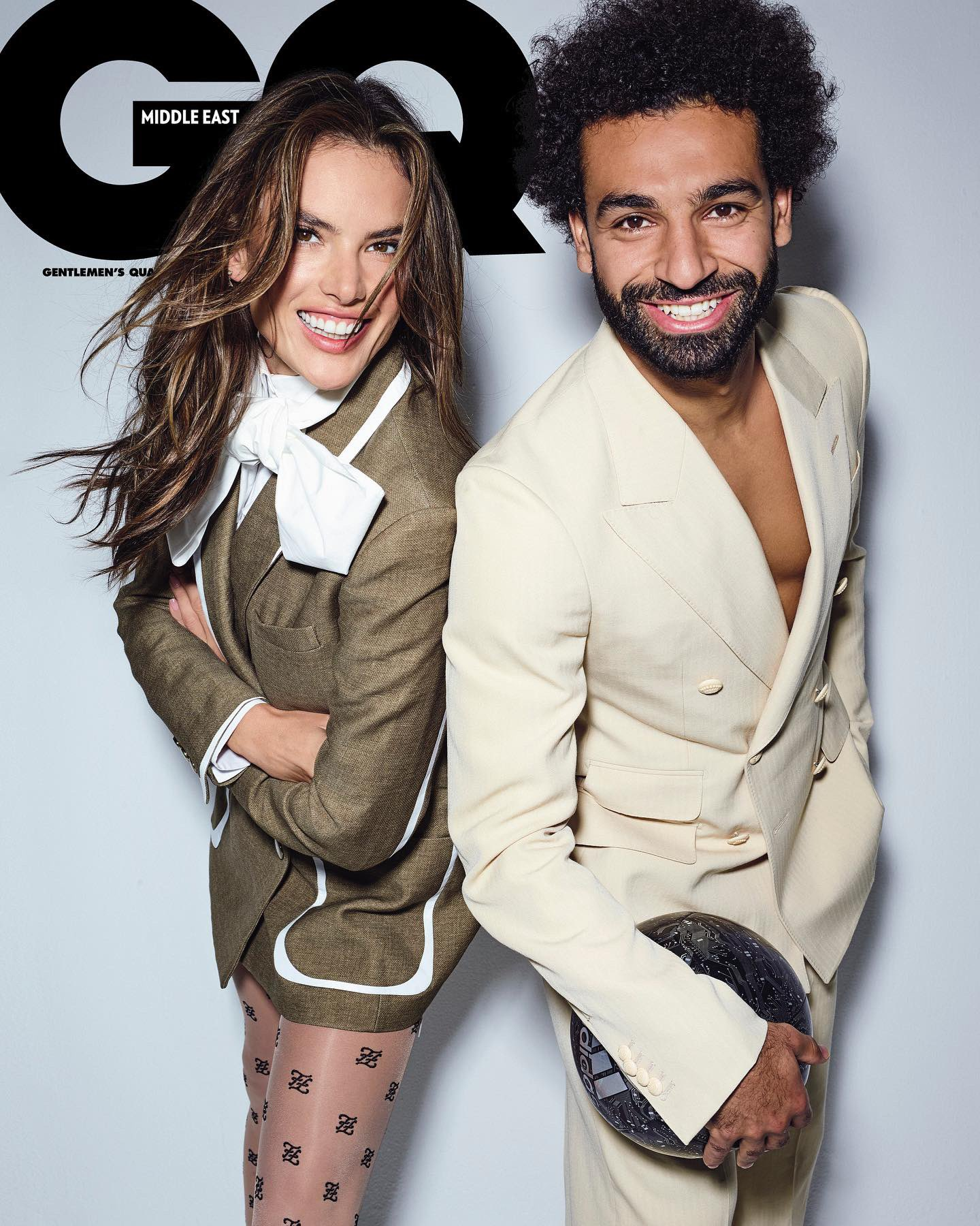 ALESSANDRA WITH MOHAMED SALAH
