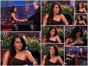 Aaliyah on Tonight Show with Jay Leno, 2000