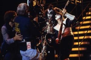 Ace and Gene ~Valencia, California...May 19, 1978 (KISS Meets The Phantom Concert)