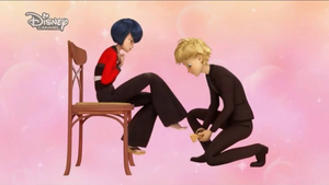 Adrien Agreste and Kagami Tsurugi