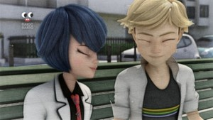 Adrien Agreste and Kagami Tsurugi