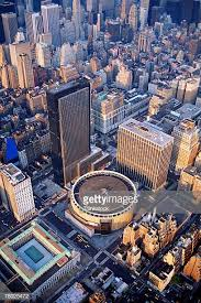 Aerial View Of Madison Square Garden