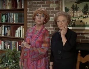 Agnes Moorehead & Marion Lorne
