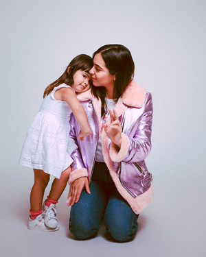 Alanna Masterson and Marlowe - The Mighty Company / Net-a-Porter Photoshoot - 2019