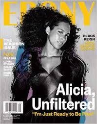 Alicia Keys On The Cover Of Ebony