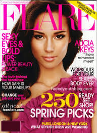 Alicia Keys On The Cover Of Flare