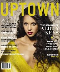 Alicia Keys On The Cover Of Uptown