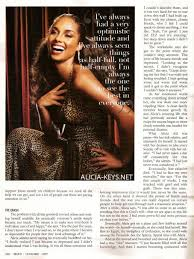 An Article Pertaining To Alicia Keys