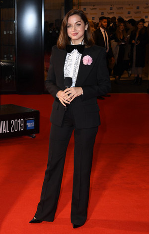 Ana at Knives Out European Premiere (2019)