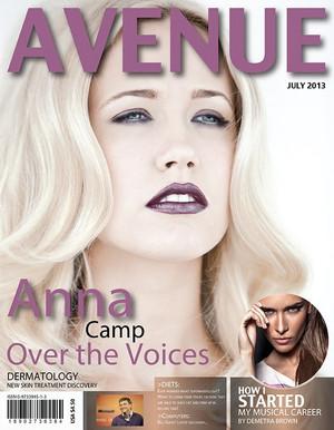 Anna Camp - Avenue Cover - 2013