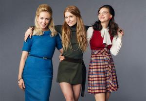 Anna Camp as Jane Hollander in Good Girls Revolt - Season 1 Cast Portrait