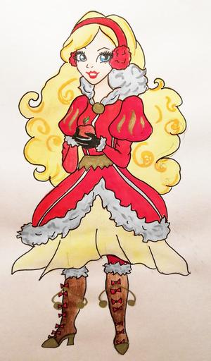 林檎, アップル White - クリスマス (devilkaoniy)