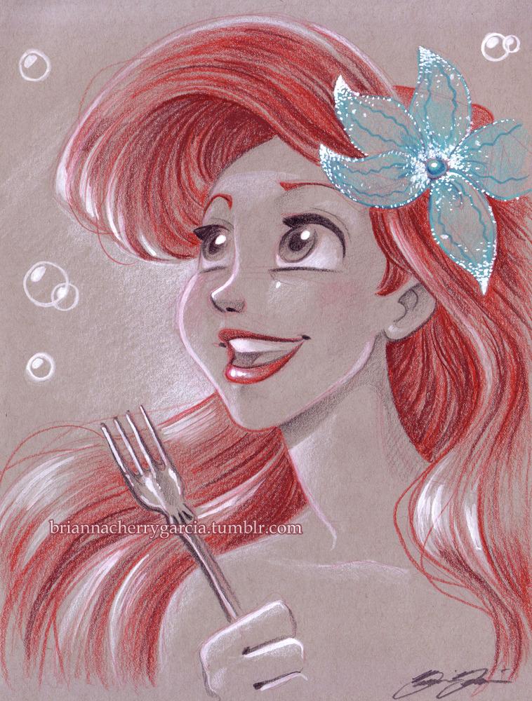 Walt disney fan Art - Princess Ariel