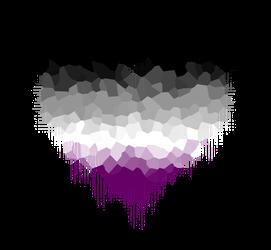 Asexual Glitch сердце