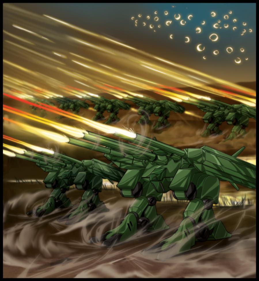 """Assault Destroid HWR-03 """"Thunder-cracker"""""""