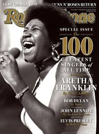 Aretha Franklin On The Cover Of Rolling Stone