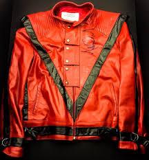 Autograhed Thriller Jacket