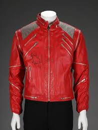 Autographed Beat It Jacket