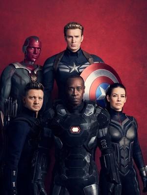 Avengers: Infinity War - Vanity Fair - Textless Covers