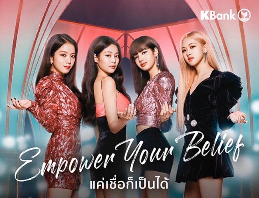 BLACKPINK for KBank Thailand Endorsement Commercial