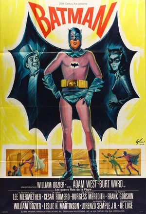 Batman Movie Poster (French)