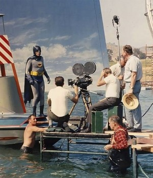 Batman Movie BTS