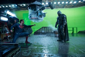 बैटमैन v. Superman: Dawn of Justice - Behind the Scenes - Ben Affleck and Henry Cavill