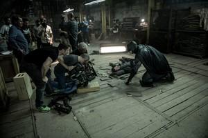 batman v. Superman: Dawn of Justice - Behind the Scenes - Ben Affleck and Zack Snyder