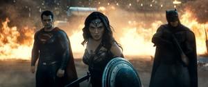 Batman v. Superman: Dawn of Justice - Superman, Wonder Woman and Batman
