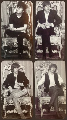 Beatles On Their Thrones 👑