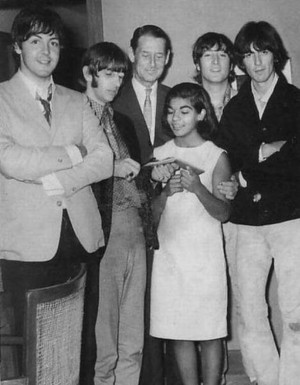 Beatles with a 粉丝