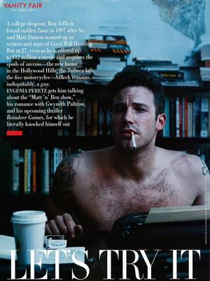 Ben Affleck - Vanity Fair Photoshoot - 1999