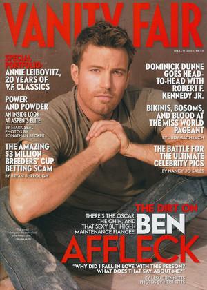 Ben Affleck - Vanity Fair Photoshoot - 2003