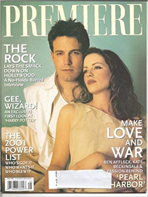 Ben Affleck and Kate Beckinsale - Premiere Cover - 2001