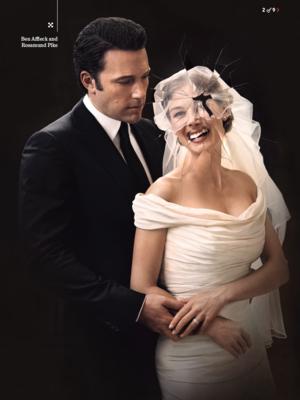 Ben Affleck and Rosamund tombak - Gone Girl Photoshoot for Entertainment Weekly - 2014
