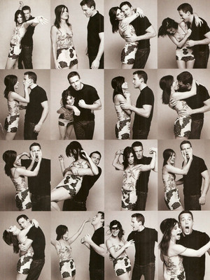 Ben Affleck and Sandra Bullock - Harper's Bazaar Photoshoot - 1999